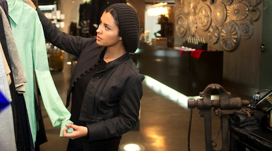 "Nadia Felisa Lopez im Laden ""Kling"": Alles muss perfekt sein"