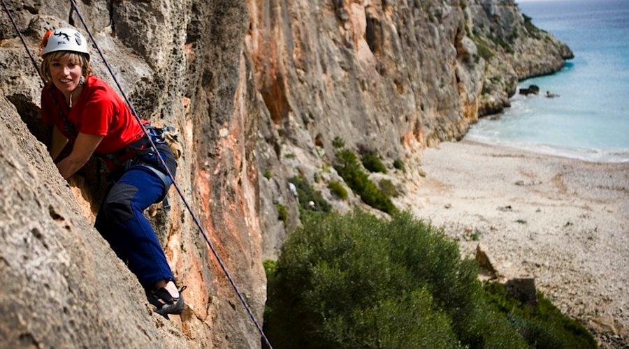 Klettern an der Küste Mallorcas
