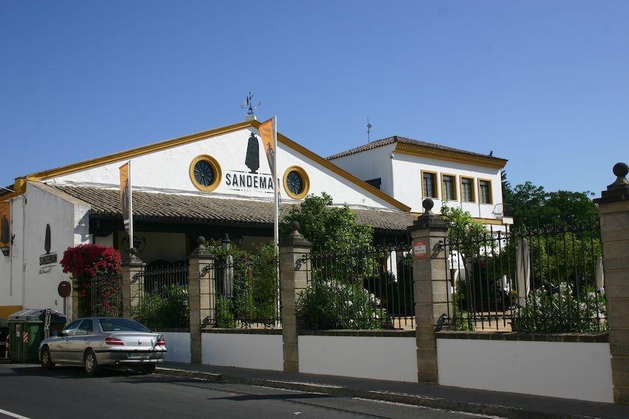 Unweit der Königlichen Reitschule: Sandemann in der Sherry-Stadt Jerez
