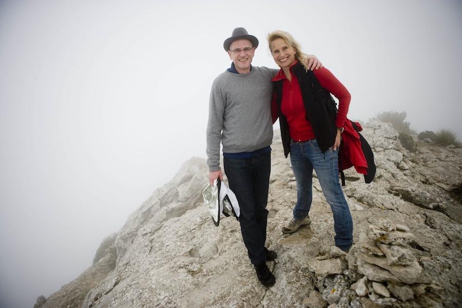 """Reiserobby mit """"seiner"""" Lieblings-Prinzessin im Nebel"""