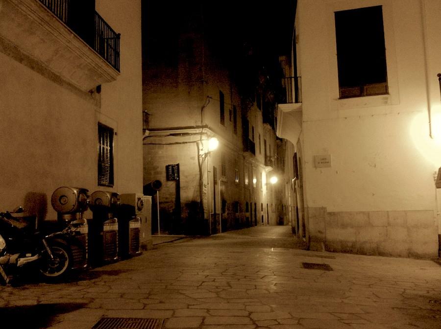 Zwielicht Unweit der Kathedrale von Palma de Mallorca