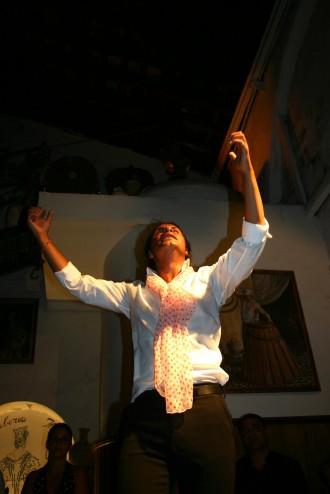 Wie ein wilder Stier, Flamenco-Tänzer
