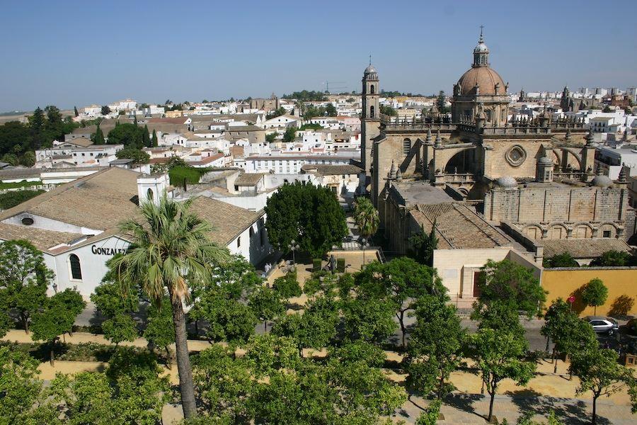 In Jerez gibt es viel zu bestaunen. Provinz Cadiz, Spanien, Europa