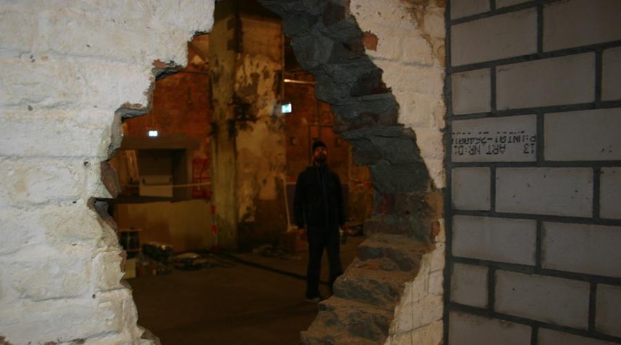 Besuch auf der Baustelle, Foto: Robert Niedermeier