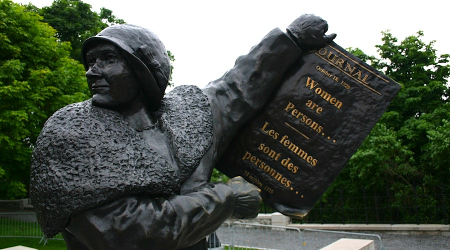 Women are Persons, Ottawa, Parlamentshügel, Ontario, Kanada