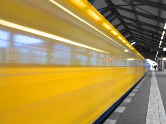 Berliner S-Bahn, auch nicht immer vertrauenswürdig.