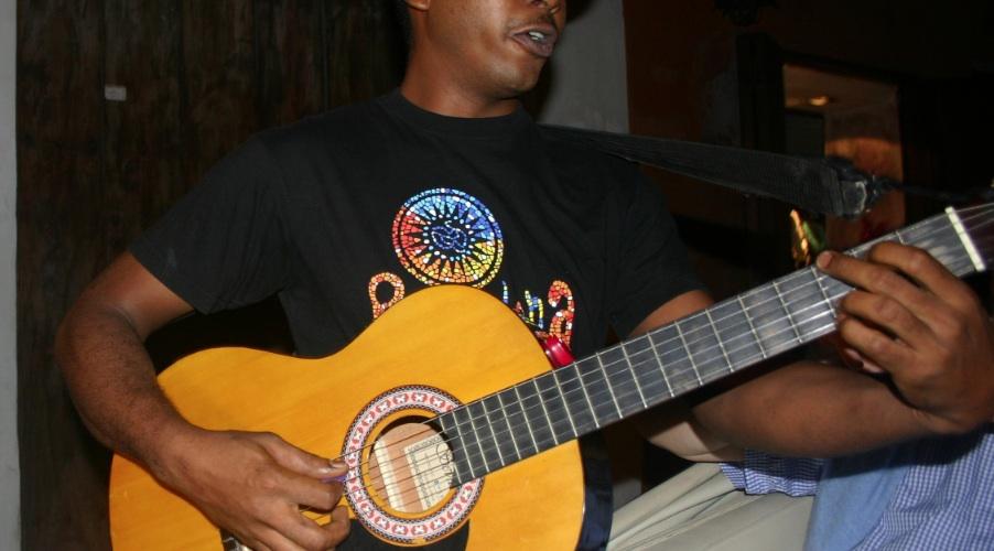 Costero singt in Cartagena, Foto: Robert Niedermeier