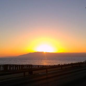 Schöne Aussichten: Der Sonne entgegen.
