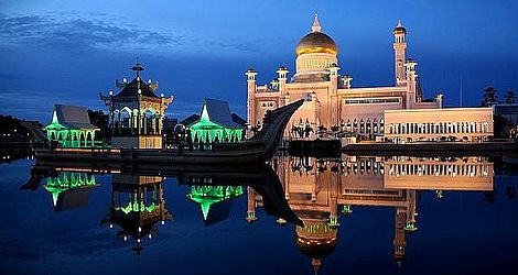 Moschee Brunei: Bild: Jim Trodel / flickr / cc by-sa 2.0