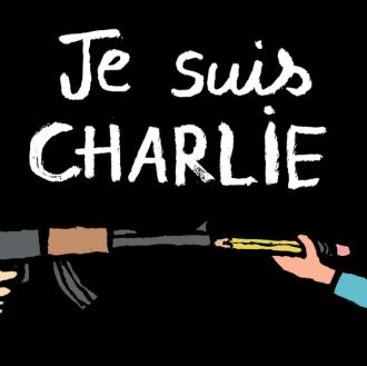 """""""Je suis Charlie"""" - mit dem Zeichenstift gegen den Terror"""