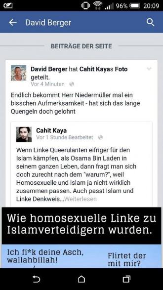Grotesk: Ex-Männer-Redakteur David Berger lobt homophobischen Humor