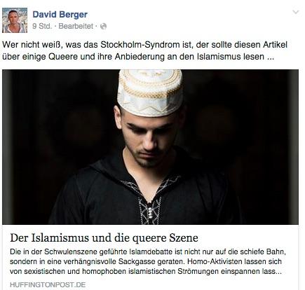 Unfug von Krause ist Berger stets eine lobende Empfehlung wert.