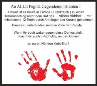 Antimuslimische Hetze von Pegidaverstehern