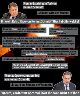 Meme von Rechtsradikalen entlarven im Internet die sozialdemokratische Mogelpackung