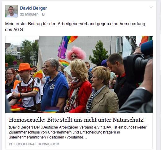 Berger-Bühne: Fake-Organisation vom rechten Rand