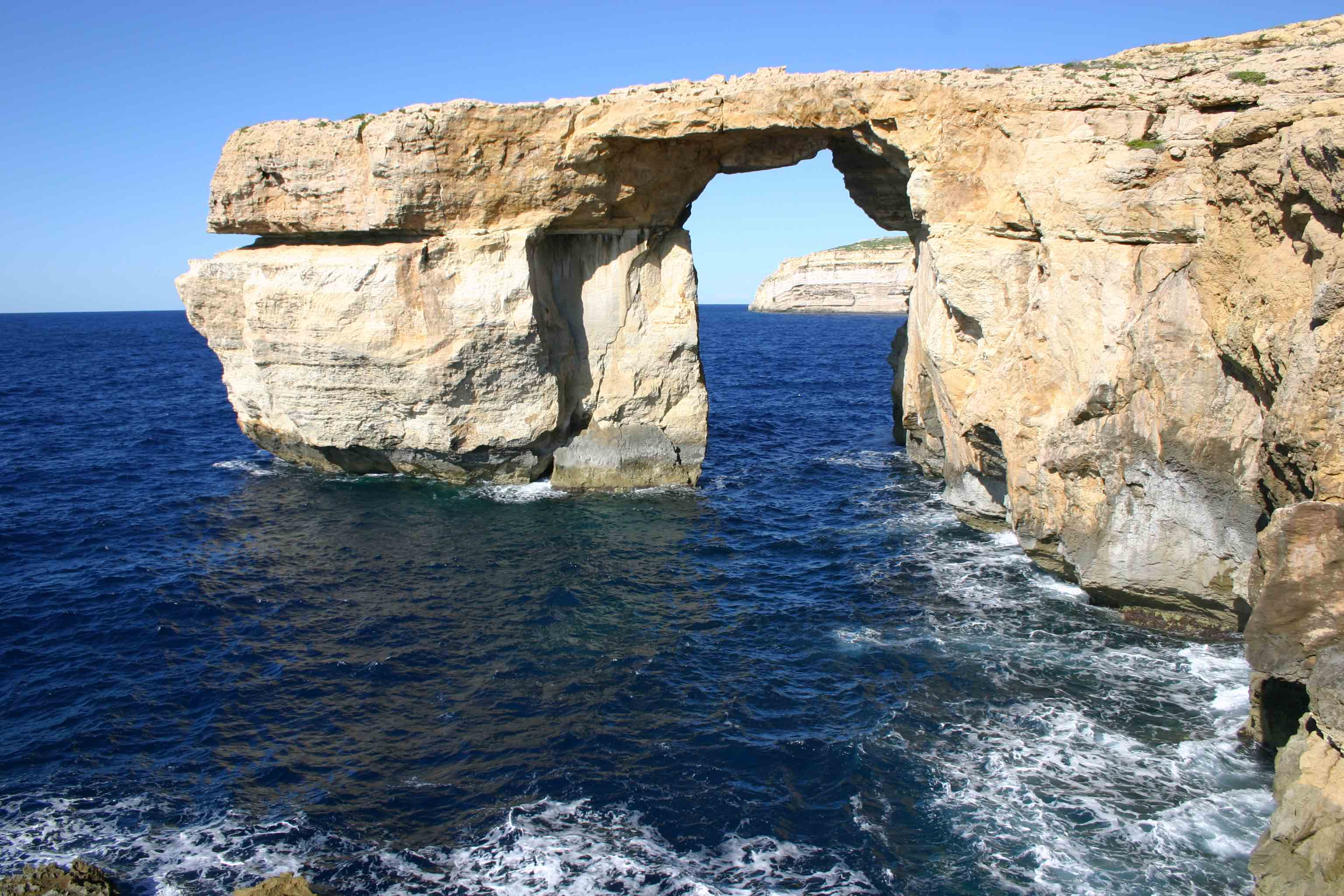 The Azure Window, Gozo, November 2009