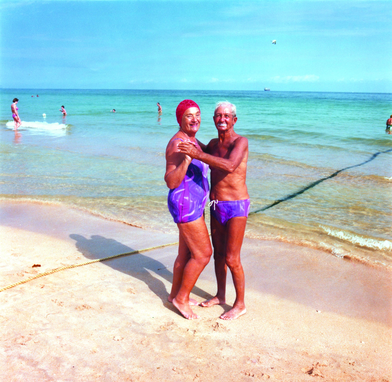 Zusammen alt und süß, zirka 1979, Miami Beach, Foto: Andy Sweet