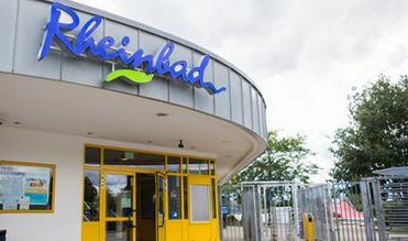 Rheinbad, Düsseldorf, TwitterScreenshot