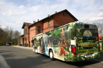 Tropical Island-Bus-Transfer
