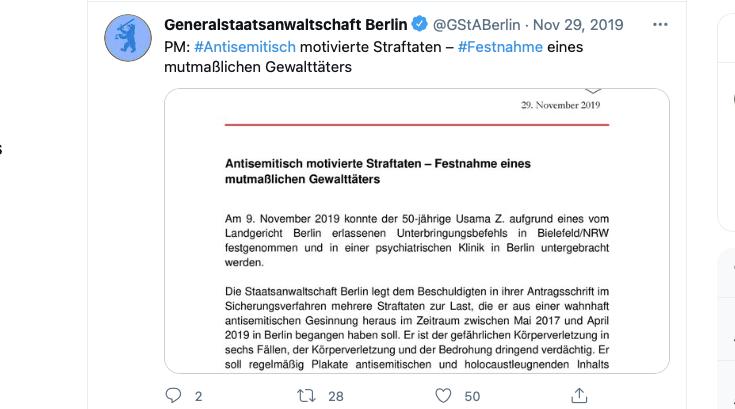 PM vom Staatsanwalt zum Fall Usama Zimmermann von 2019