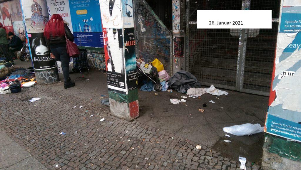 Kreuzberg: Ordnungsamt-App hat bisher keine Änderung bewirkt