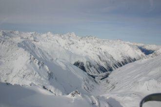 Rettenbachtal Hubschrauber-Perspektive