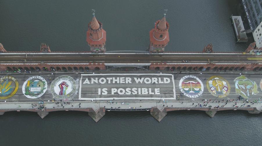 Eine andere Welt ist möglich – jetzt lasst sie endlich real werden.