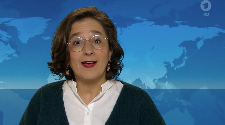 Isabel Schayani in den Tagesthemen Meinung vom 25.03.2021