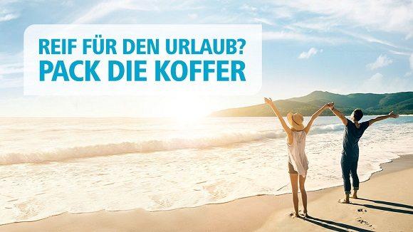 Eurowings-Werbung von Lufthansa animiert zum Balearen--Urlaub