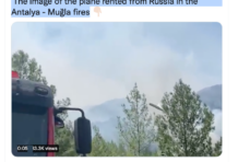 Feuerlöschflugzeug bei Kahramanmaraş abgestürzt