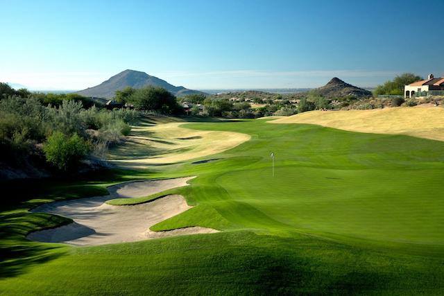Eagle Mountain Golf Club in Scottsdale in Arizona, USA