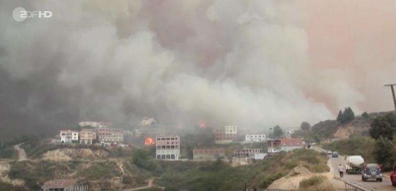 ZDF zeigt Brennende Stadt in Algerien