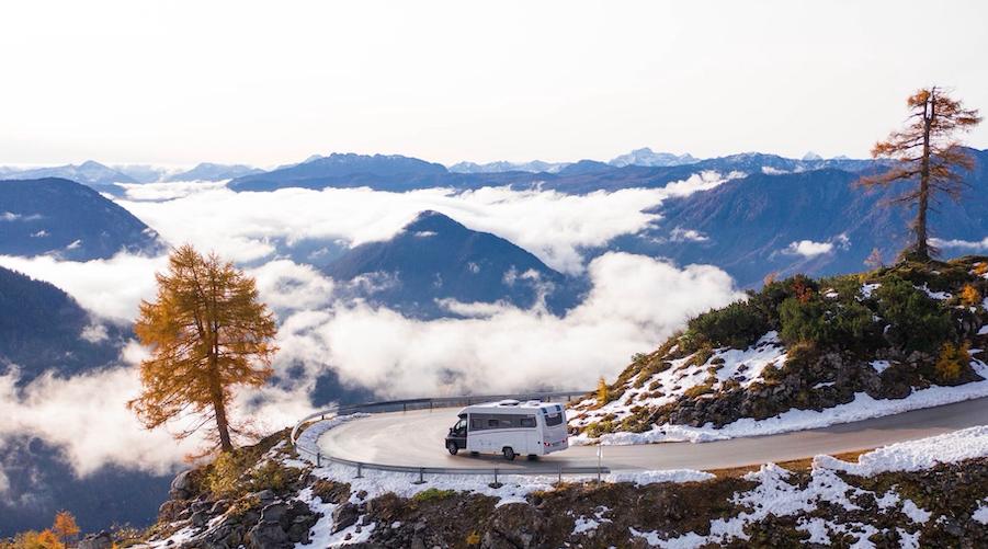 Schweiz: Extrem weit oben im Wallis mit dem Wohnmobil zum Camping unterwegs