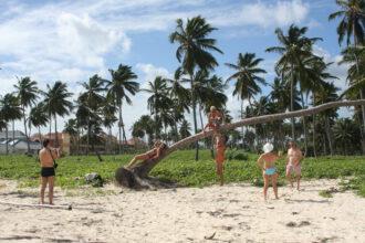 In Haitis Nachbarland, der Dominikanischen Republik, amüsieren sich Millionen von Touristen