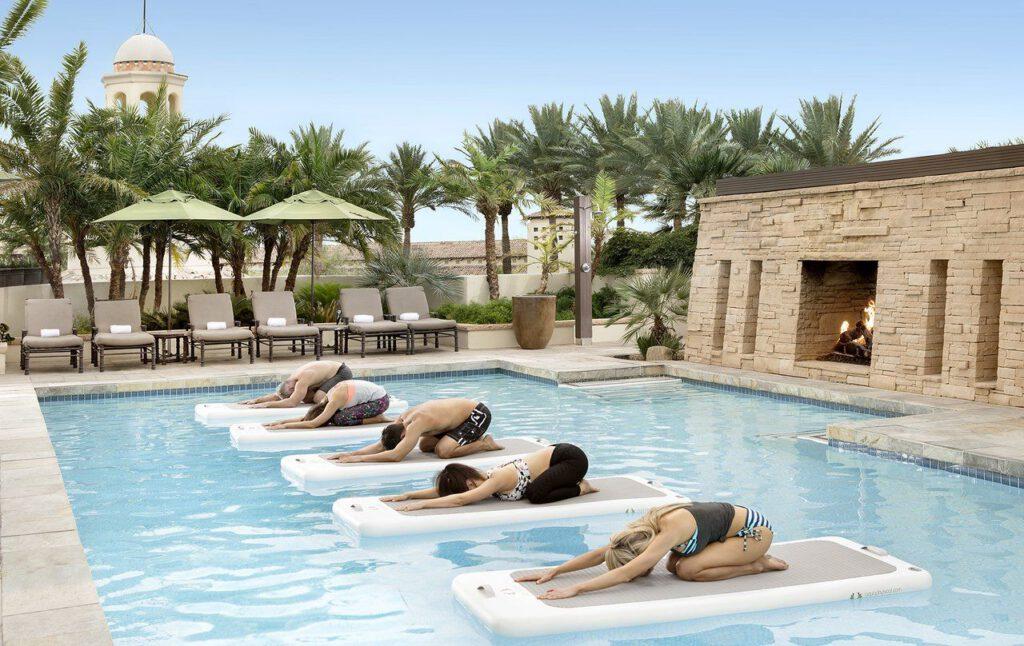 Floating Yoga und noch mehr Wellness in Scottsdale