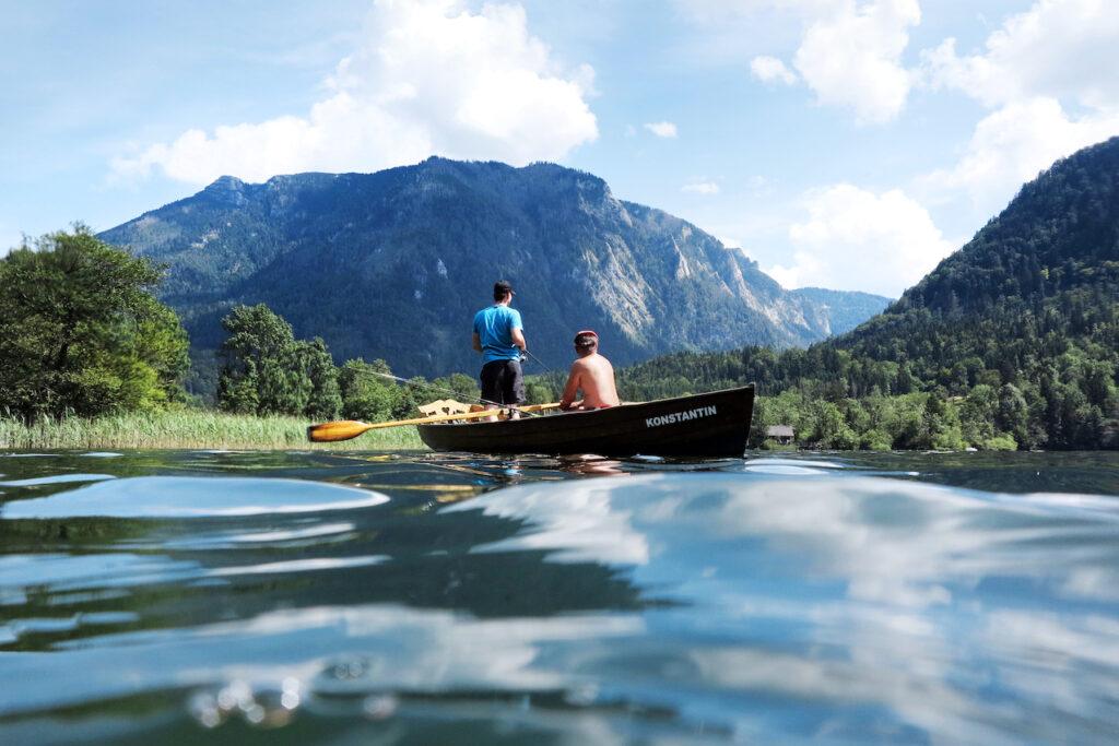 Drei-Seen-Tour: Lunzer See in Niederösterreich im Mostviertel