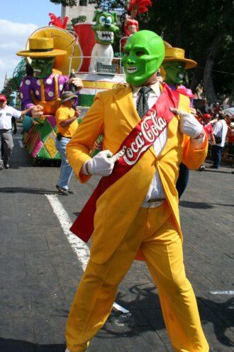 Parade in Merida in Mexiko