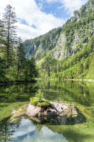 Drei-Seen-Tour: Der Mittersee liegt im Mostviertel auf der Wanderroute Route