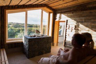 Sauna auf Spiekeroog: Inselbad & Dünen-Spa: der ideale Ort zum Aufwärmen.