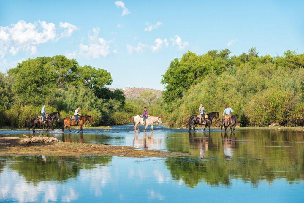 Arizona: Pferde reiten im beindruckender Natur