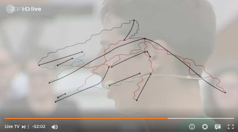 Leo Webel hat den Skiplan vom Skigebiet Spitzingsee/Tegernsee in Bayern im Kopf, Foto: Screenshot, ZDF-Fernsehgarten vom 12. September 2021