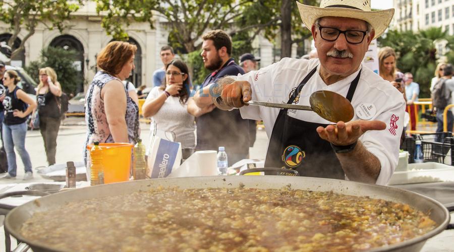 Paella-Fest in Valencia