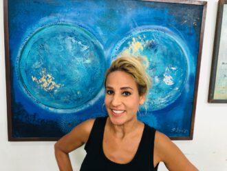 Elisa Lejuez stellt Kunst mit Botschaft aus