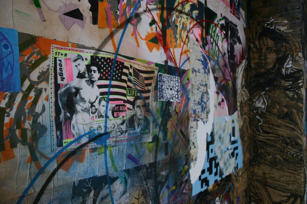 Kommerz und Wandkunst in Hackney (London, UK)