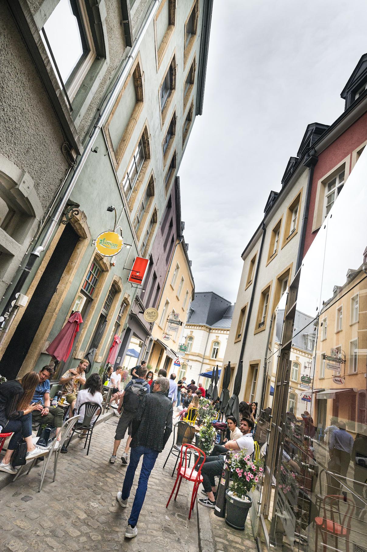Europa, Luxemburg, Luxemburg Stadt, Stadtführung mit Architekten, Stadttour, Architektur, engl. Europe, Luxembourg, Luxembourg City, city tour with architects, architecture