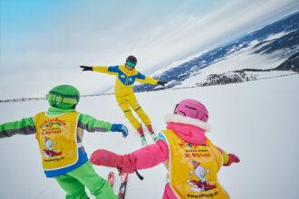 Skikurse mit Karl Pellikan machen im Salzburger Land im Lungau offensichtlich Spaß