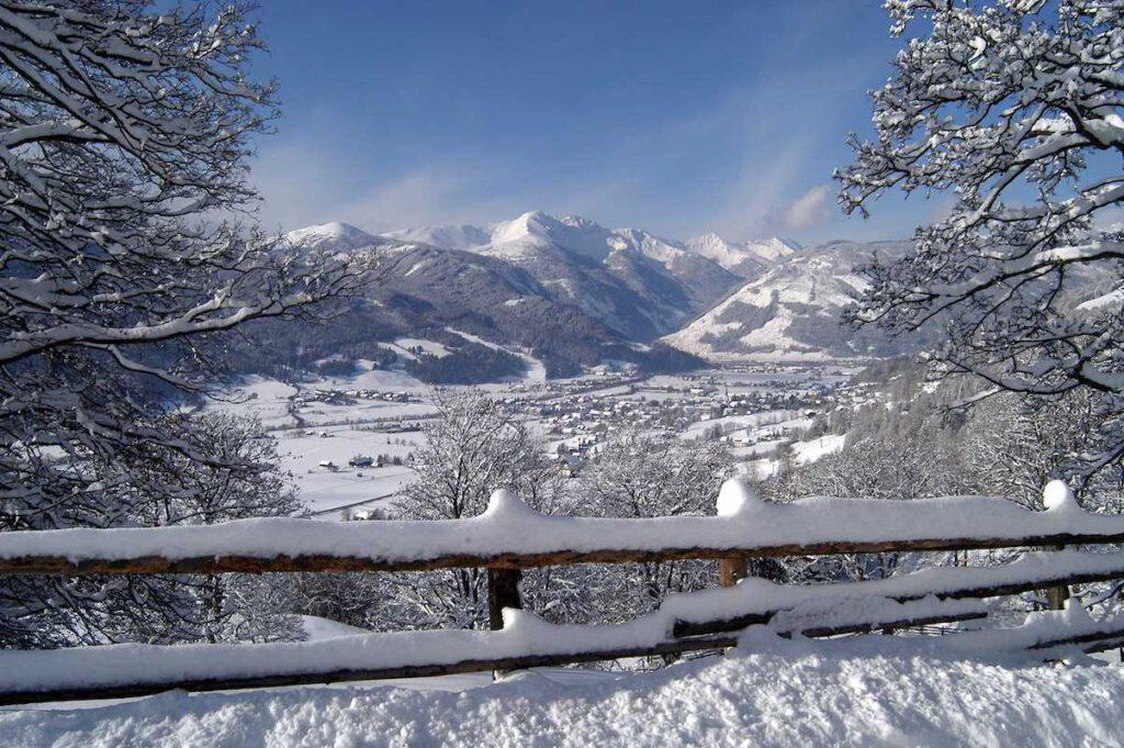 Winterwanderwege im Salzburger Lungau in der Ruhe der Natur